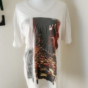 American Rag V Neck T-Shirt Sz XL